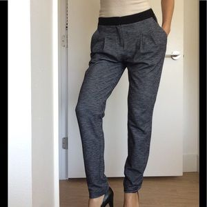 Theory Gray Jogger Trousers